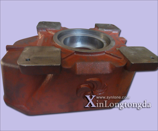 Sand Casting Gearbox 001